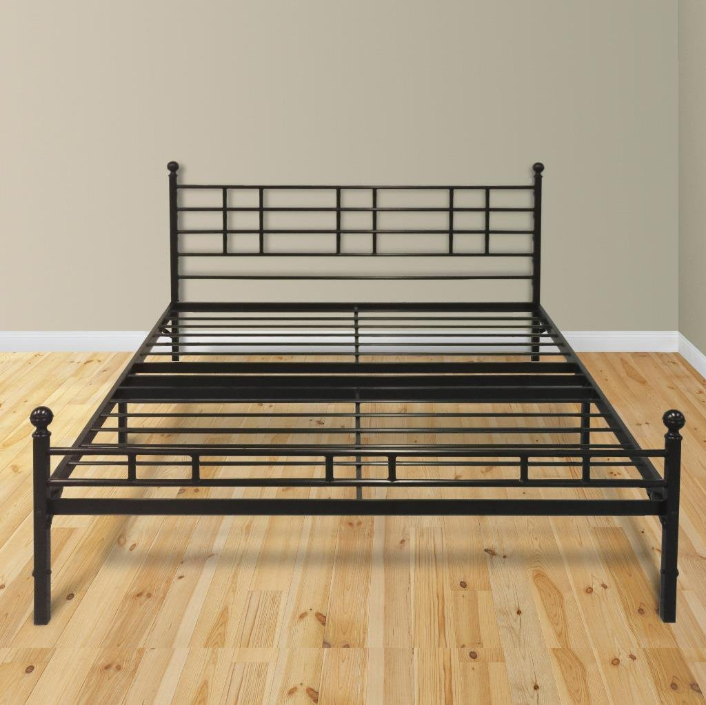 Modern Easy Set Up Steel Platform BedSteel Bed Frame