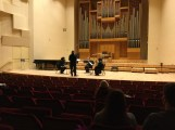 The performance of my piece for wind quintet conducted by Kristi Bonzaaier - Le Foisonnement