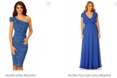 rochii de seara albastre ieftine