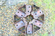 Badly broken hub