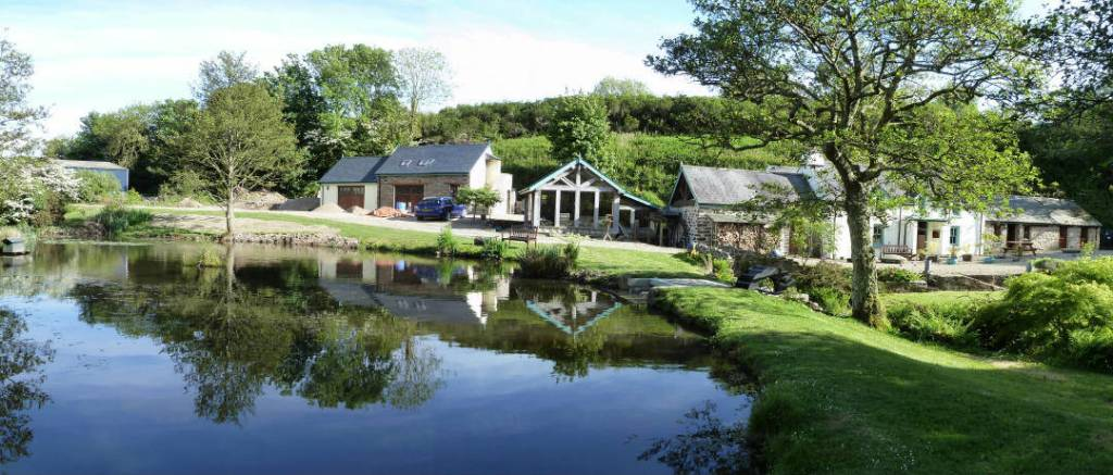 Roch Mill and Granary Project finished providing an eco friendly self catering holiday cottage