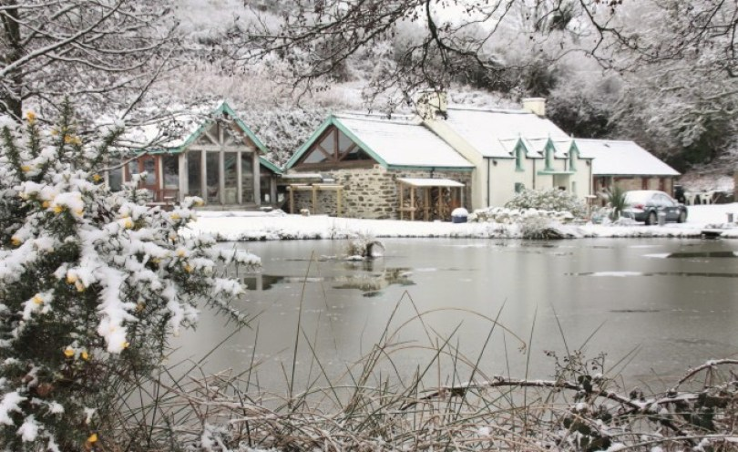 Roch Mill in the snow
