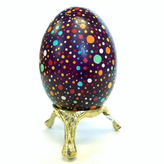 Huevos Pysanky, huevos de Pascua de Ucrania Krapanky