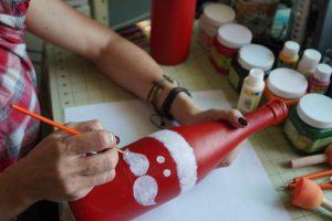 Esta soy yo  Santa hecho a mano