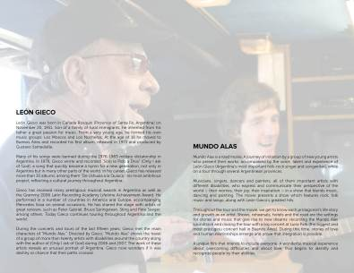 Booklet Design: Rocio Valenzuela (page 2)