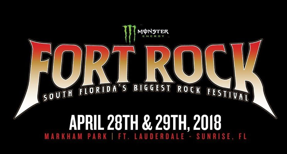 Fort Rock Band Lineup Announced