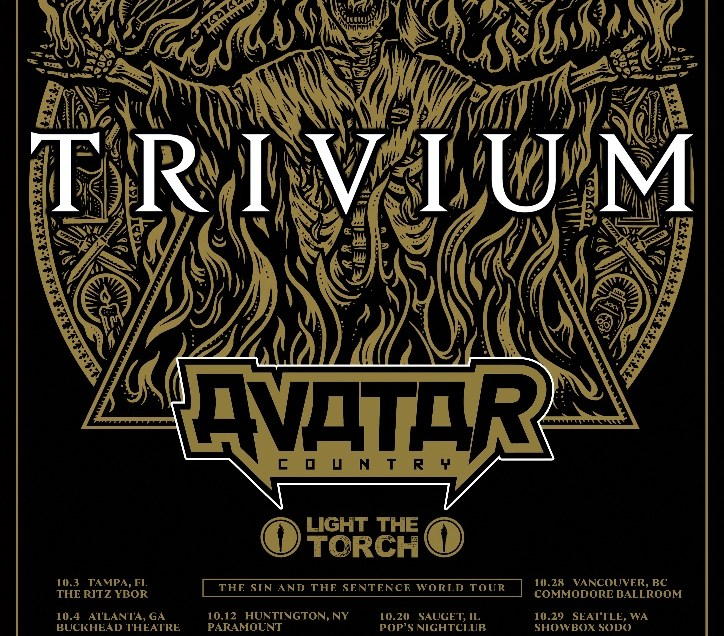 Avatar to Join Trivium on North American Fall Tour