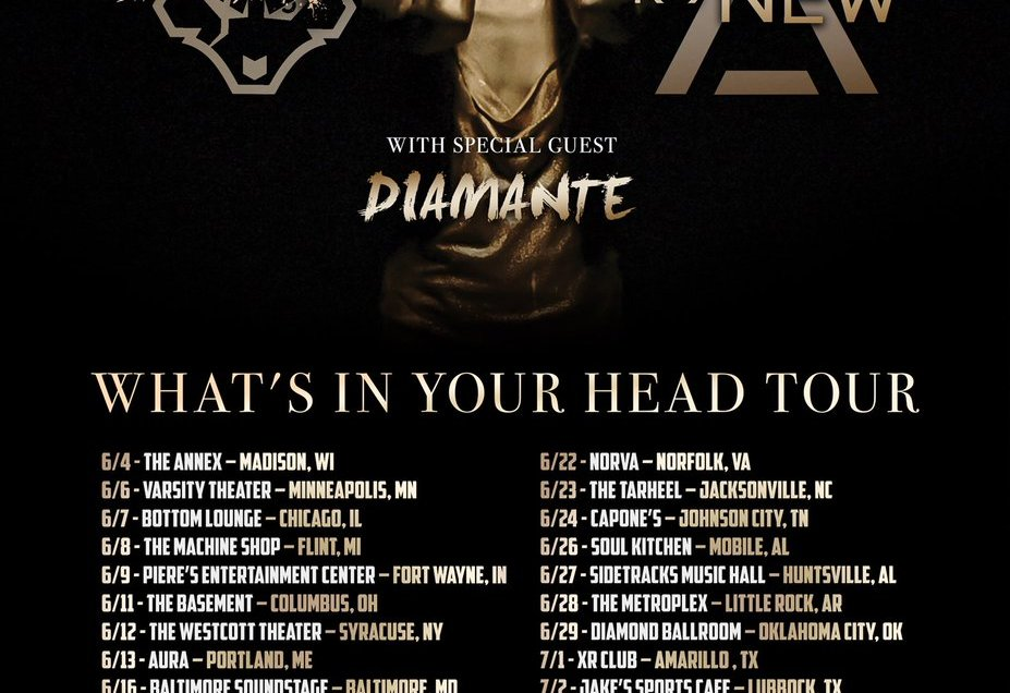 Bad Wolves & From Ashes To New to Headline What's In Your Head Tour