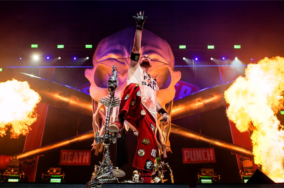 Five Finger Death Punch are 'Back For More' in Tampa