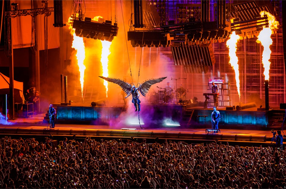 Chicago Open Air 2016 Photos - Rammstein headlining day one.