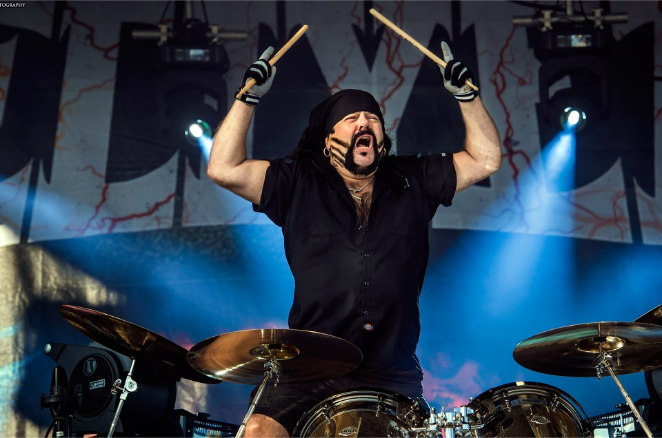 Renowned Hellyeah and Pantera drummer Vinnie Paul.