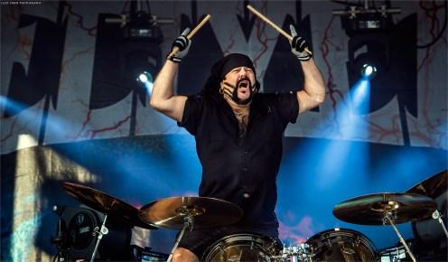 Renowned Hellyeah and Pantera drummer Vinnie Paul.