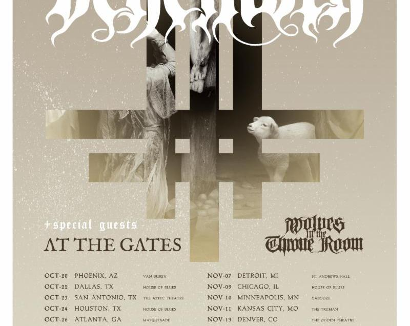 Behemoth announce Ecclesia Diabolica America 2018 tour