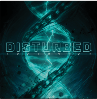 Cover for new 'Evolution' album from Disturbed.