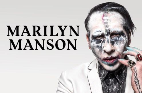 Marilyn Manson to headline fall 2018 mini-tour.