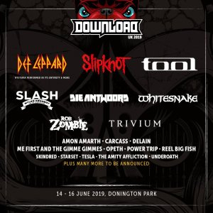 The initial lineup for UK's Download Festival 2019 has been announced!