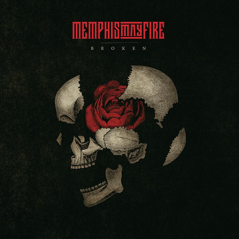 Memphis May Fire artwork for new album 'Broken'.