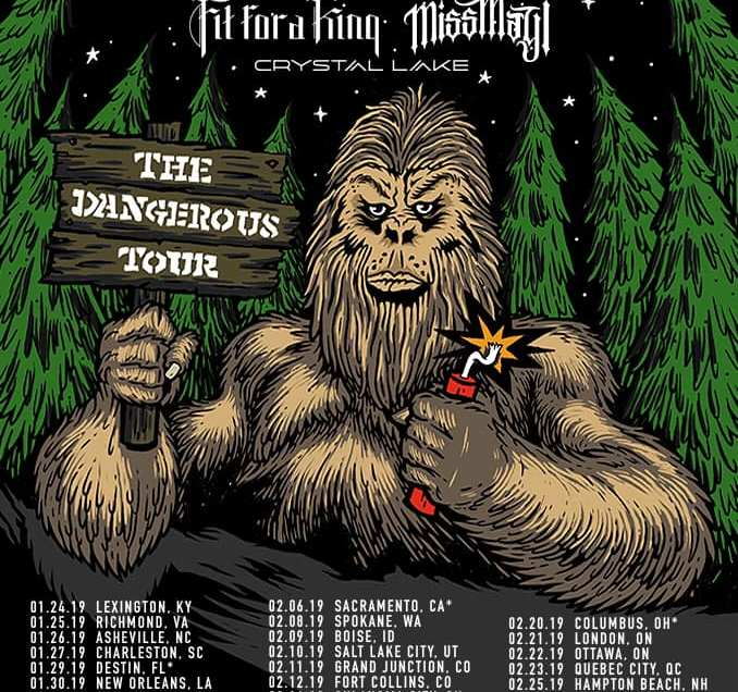August Burns Red announce 'The Dangerous Tour'.