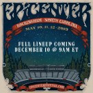 Full lineup announcement coming on December 10th for all new Carolina Epicenter Music Festival.