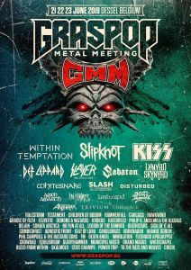 Graspop Metal Meeting 2019 lineup announced.