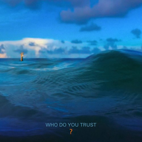 "Papa Roach album cover artwork for ""Who Do You Trust?"""