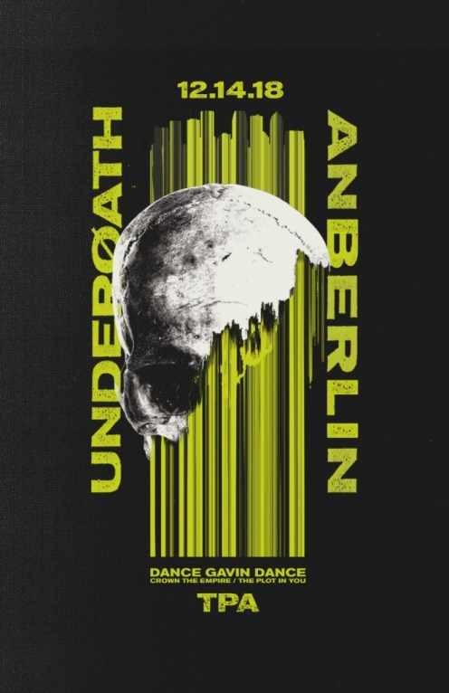 "Underoath announce special guest Anberlin to perform at final date of ""Erase Me"" tour in December."