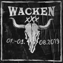 Wacken Open Air 2019 logo.