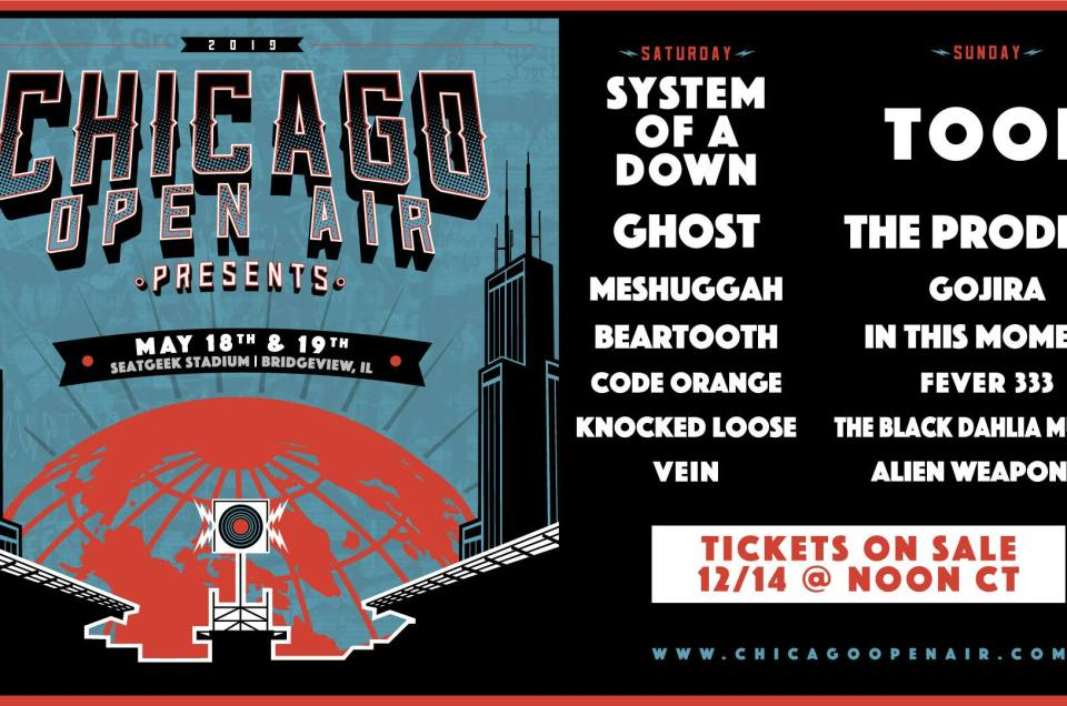 Chicago Open Air 2019 lineup announced