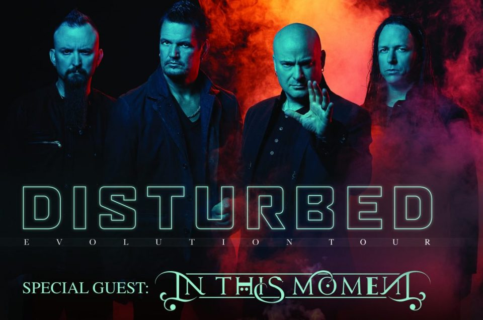 Disturbed and In This Moment have announced late summer tour dates together!