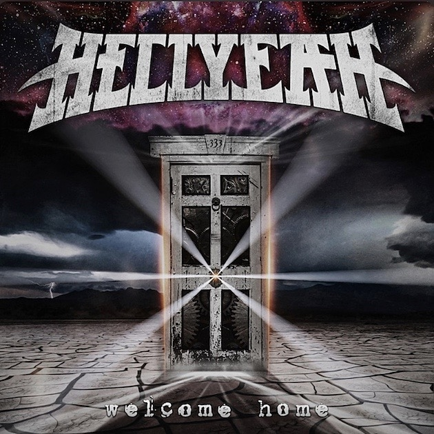 Album artwork for upcoming HELLYEAH album 'Welcome Home.'