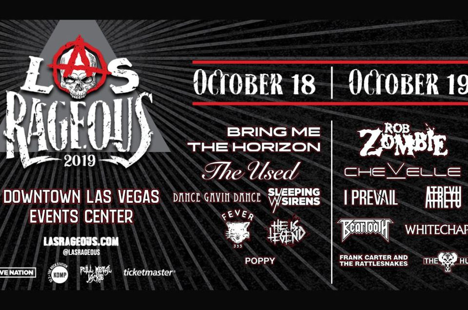 The lineup has been announced for Las Rageous 2019 music festival!