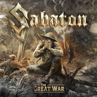 Album cover for Sabaton's ninth studio album 'The Great War.'
