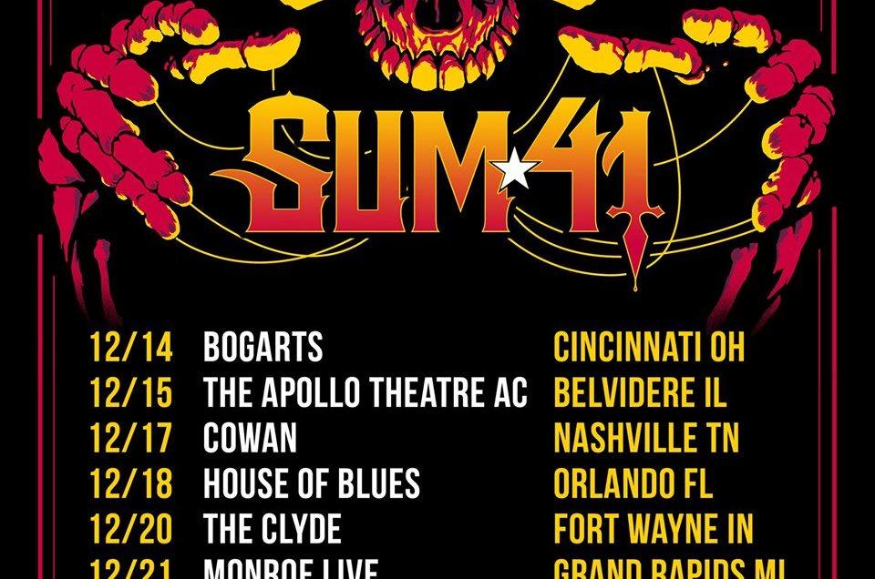 Sum 41 to headline Blizzard of Rock show in Orlando