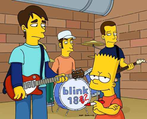 blink182.jpg  As Principais Participações de Bandas e Artistas nos Simpsons blink182