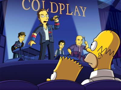 coldplay.jpg  As Principais Participações de Bandas e Artistas nos Simpsons coldplay
