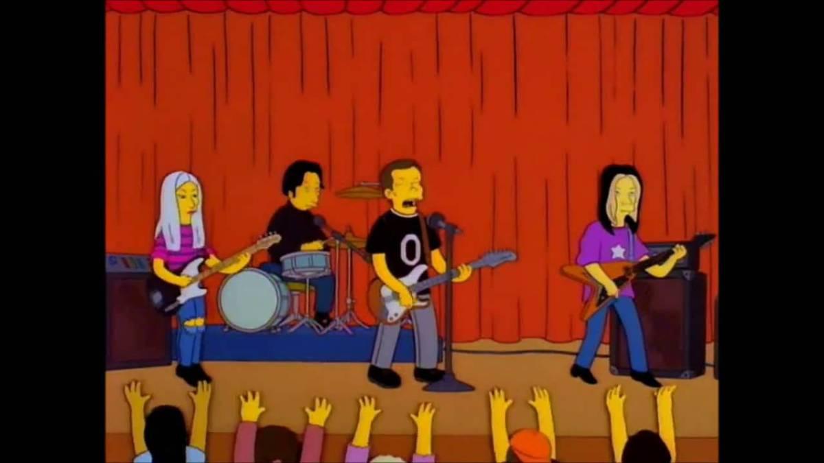 smashingpumpkins.jpg  As Principais Participações de Bandas e Artistas nos Simpsons smashingpumpkins