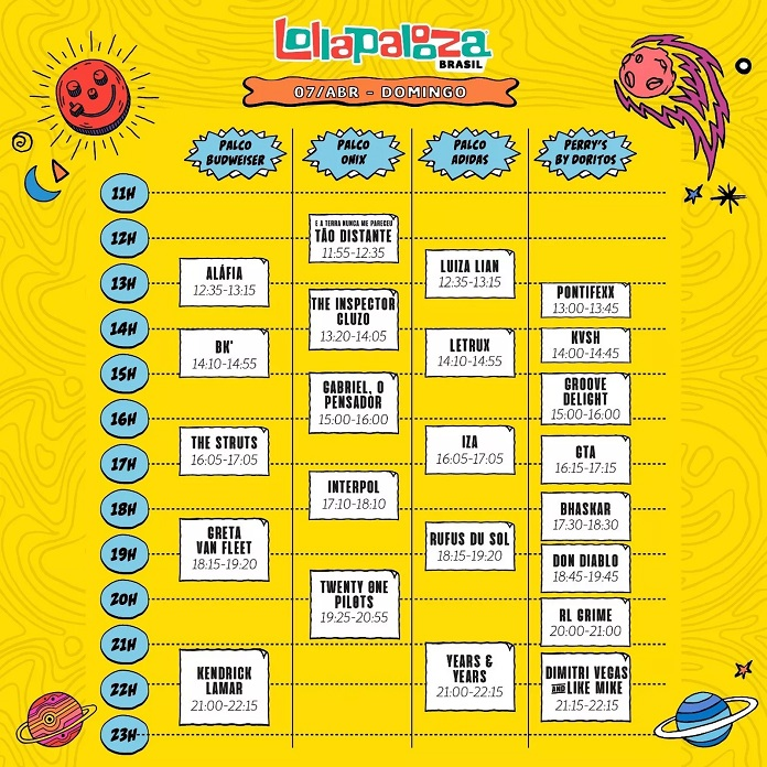 Lollapalooza-2019-Domingo.jpg  Lollapalooza Brasil anuncia horários e divisão para 2019 Lollapalooza 2019 Domingo
