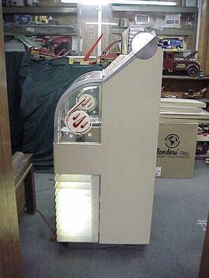 1951 AMI D40 jukebox left side