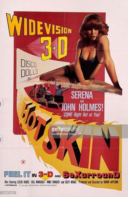 hot skin 3D 1 sheet