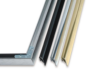 metal picture frame sections
