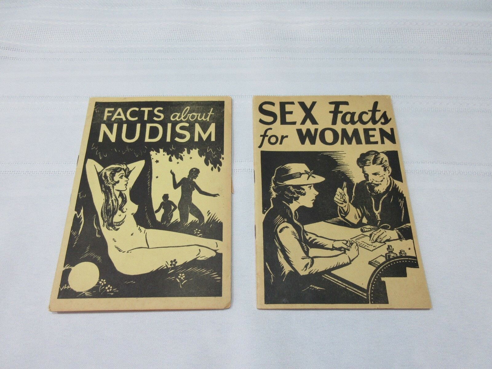 nudism and sex facts booklets