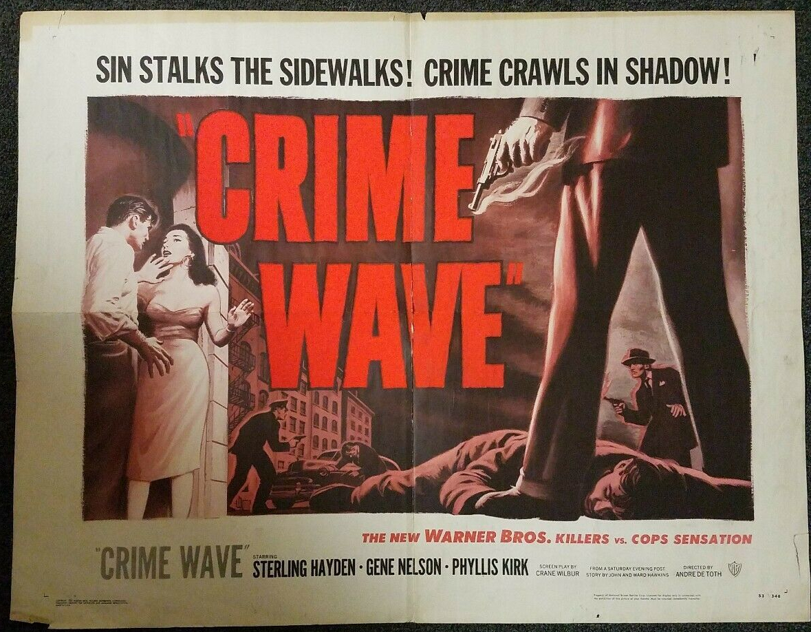 crime wave half sheet