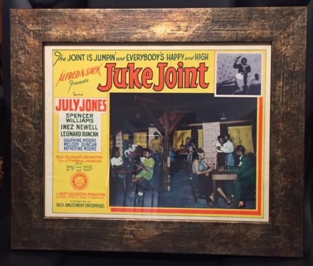 juke joint framed