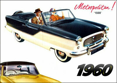 1960 metropolitan convertible brochure image