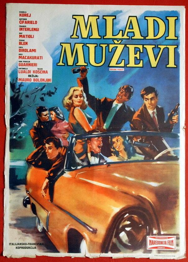 giovani mariti yugoslavian poster