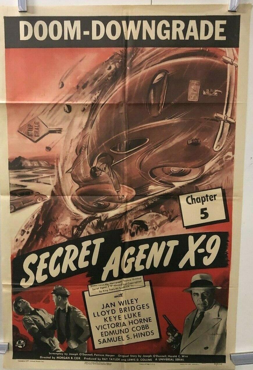 secret agent x9 1 sheet