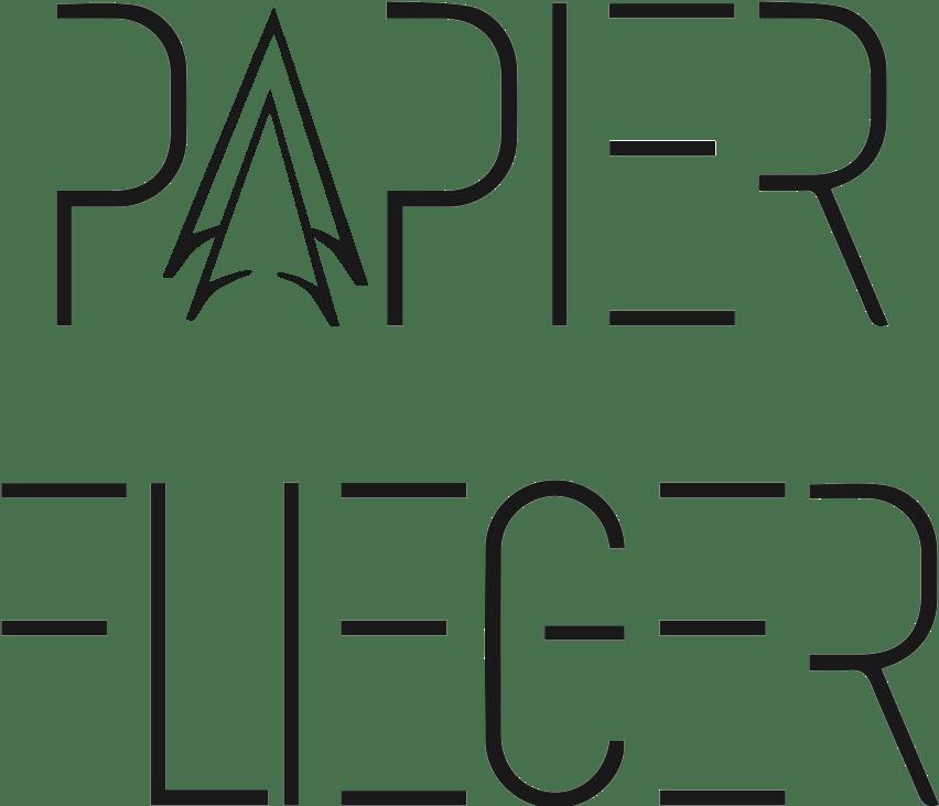 Papierflieger - Bandlogo