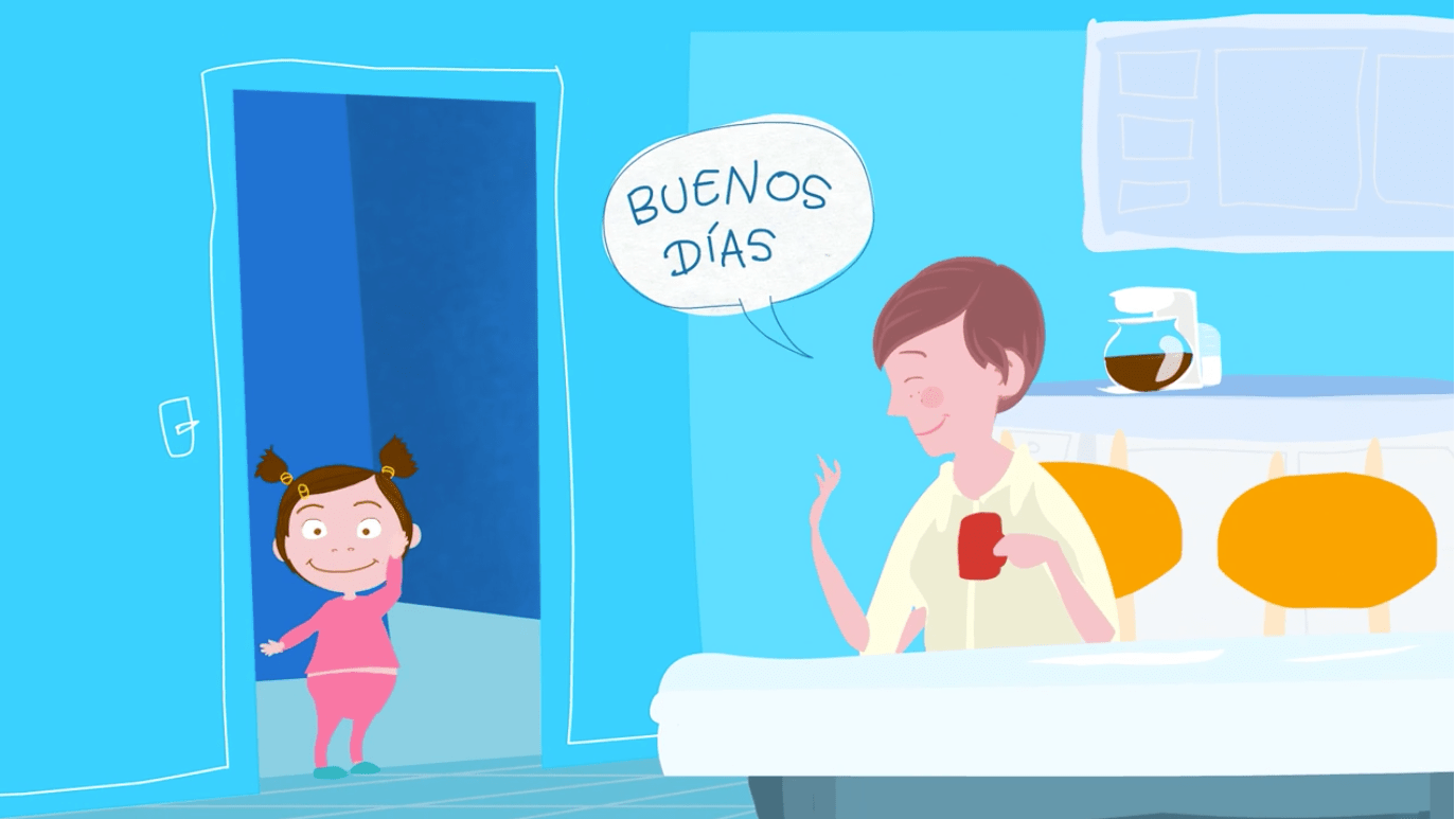 How To Describe Daily Routines And Greetings In Spanish