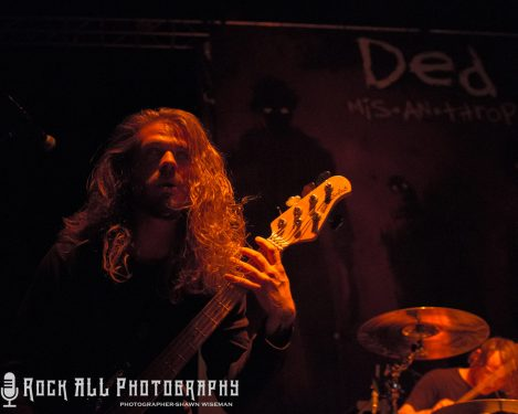 Photo's Of DED Performing On Tour With In This Moment At Express Live In Columbus, Ohio