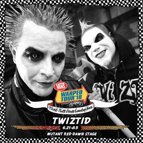 TWIZTID Joins the Final 2018 Vans Warped Tour Line-Up
